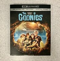 The Goonies. 4K Ultra HD. With Blu-ray & Digital. Brand New With Slipcover.