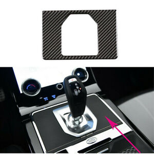 Carbon Fiber Gear Panel Frame Cover Trim For Range Rover Evoque L551 2019-2020
