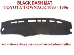 DASH MAT, DASHMAT, DASHBOARD COVER FIT TOYOTA TOWNACE 1993-1996, BLACK