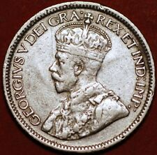 10 Cents 1936 George V silver Canada KM#23a