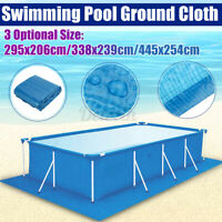 Rectangle Inflatable Swimming Pool Cover For Garden Paddling Family Pools 3  t