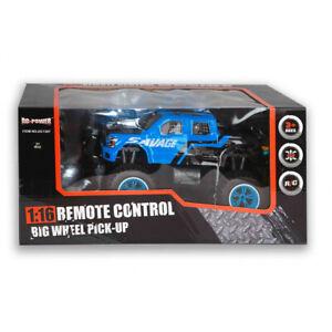 RC Monstertruck 1:16 (DC-Power) 27MHz   Ferngesteuert   Big Wheel Pick-Up   NEU