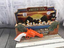 Wilde West Gun Slinger Game Quick Draw Electronic Shooting Target Practice