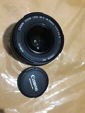 Canon Ultrasonic Zoom Lens EF-S 18-55mm 1:3.5-5.6 II USM