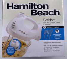 Hamilton Beach White 6 speed Hand Mixer, 275 W