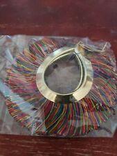 Big Circle Tassel Dangle Fashion Earrings