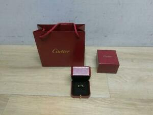 Cartier Love Ring 18K 750 Yellow Gold Size 62 Euro Size 10 US 5.5mm AUTHENTIC
