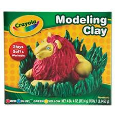 Crayola Modeling Clay - Red, Blue, Yellow, Green (570300)
