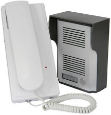 WIRELESS CORDLESS TELEPHONE STYLE DOOR SECURITY INTERCOM SYSTEM