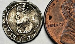 b1: Charles 1st Hammered Silver Penny - Cheap