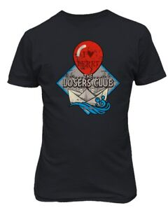 IT King The Losers Club Horror Clown Stephen King Men's T-Shirt