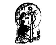 Jack & Sally , Nightmare Before Christmas , Love , In home Wall decal Cute