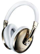 Ted Baker London Rockall High-Performance Folding Over-Ear Headphones White NEW