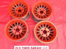 American Racing turbine aluminum wheels A-team van chevy truck gmc Orange 14x7