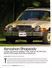 1979 AMC PACER  ~  NICE 4-PAGE ARTICLE / AD