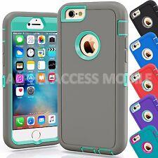 12 TPU Shockproof Defender Hybrid Case Wholesale Lot For Apple iPhone 6/6S Plus