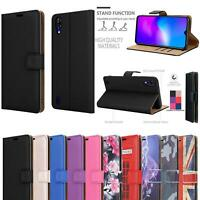 For Blackview A60 Pro, UK 2019 Leather Wallet Phone Case Cover + HD Screen Guard