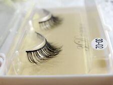 1P 100% Handmade 3D slender Natural Lifelike False eyelashes Eye End Extension