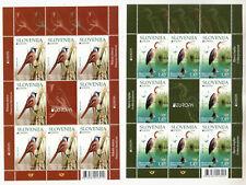 Slovenia Slowenien 2019 MNH EUROPA CEPT bird Vogel Purple heron bearded reedling