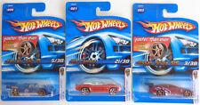 3 Hot Wheels Ferrari 512 m '69 Camaro Convertible Nissan Silvia 1st Editions 200