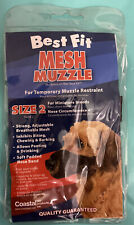 Mesh Muzzle ~Size 2- For Minature Breeds~ For Temporary Muzzle Restraint!