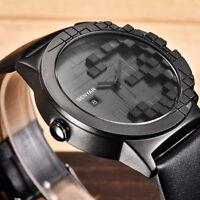 BENYAR Waterproof Leather Band Men Military Janpan Quartz Watch Date Gift Box