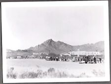 VINTAGE 1930's 1940'S CALIFORNIA CROSS-COUNTRY AUTO CLUB CAR CAMPING RACE PHOTO