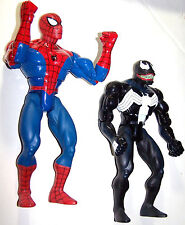 Marvel Comics Venom VS Spiderman Heavy Hitters Rock'em Sock'em Robots Figures