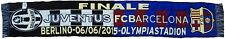 SCIARPA FINALE JUVENTUS BARCELLONA UFFICIALE CHAMPIONS LEAGUE BERLINO 6-6-2015