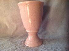 Vtg Brush-McCoy Pink Speckled Vase