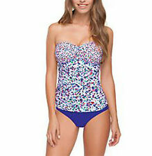 NWT GOTTEX PROFILE Beach Glass 2 PIECE Tankini SWIMSUIT Bathing SUIT sz - 12