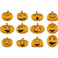 Adhesivo hallowen calabaza 41x26cm hallowen calabaza
