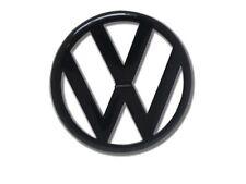 VW Zeichen Golf 4 VI Schwarz Frontgrill Front Volkswagen Emblem Logo Badge