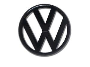 VW Zeichen Golf 4 IV Schwarz Frontgrill Front Volkswagen Emblem Logo Badge
