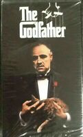 The Godfather - 2 VHS Set w/ Marlon Brando, Al Pacino BRAND NEW FACTORY SEALED