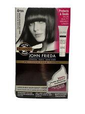 John Frieda Hair Color DARK COOL ESPRESSO BROWN 4PBN  Salon Coloring Kit In Box
