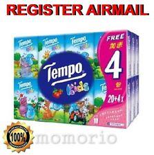 24 packs Tempo Petit Kids Pocket Tissues Paper 4 ply handkerchiefs Strawberry
