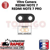 Vitre arrière caméra XIAOMI REDMI NOTE 7 PRO Lentille appareil photo Lens verre