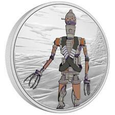 Niue - 2 Dollar 2021 - Star Wars™ - Mandalorian™ (3.) - IG-11™ - 1 Oz Silber PP