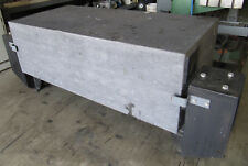 """62"""" x 30"""" Granite Surface Plate / Inspection Table 20""""Thick / 30""""high w/ Stand"""