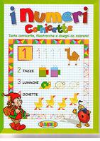 Cornicette. I numeri. Cornicette, filastrocche e disegni da colorare- Salvadeos