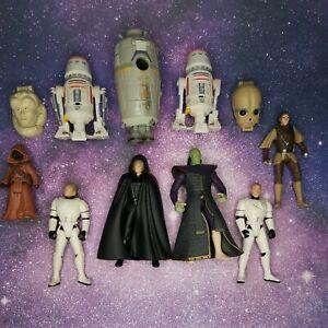 1996 Star wars Action Figures Mix 11 pcs lot