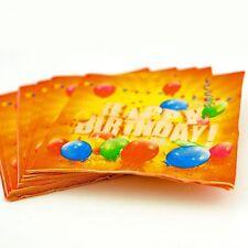 20 X Happy Birthday Party Napkins Serviettes - Tableware 33cm