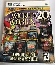 Mystery Masters Wicked Worlds Collection PC Game Window 10 8 7 Vista XP Computer