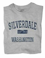 Silverdale Washington WA T-Shirt EST