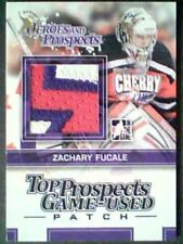 ZACHARY FUCALE 13/14 TOP PROSPECTS 3-COLOR GAME-USED PATCH   1/1 SPRING EXPO  SP