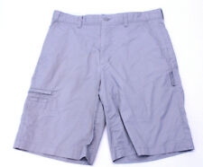 Mens Greg Norman For Tasso Elba Gray Golf Shorts Size 32
