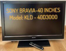 Sony Bravia LCD 40 Inch HD TV