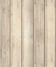 Arthouse Skandi Plank Wallpaper Wood Panel Cladding Natural Grey Timber 696700