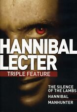 Hannibal Lecter Triple Feature [New DVD] Widescreen